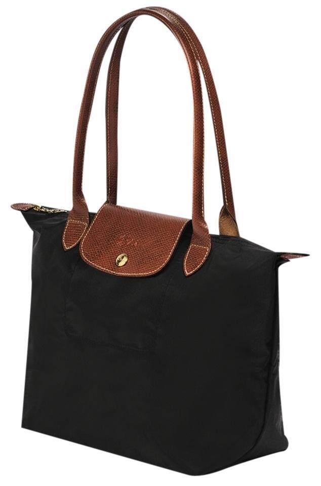 10b5a6546a43 LONGCHAMP LE PLIAGE Tote Bag Small - Black (2605089-001)