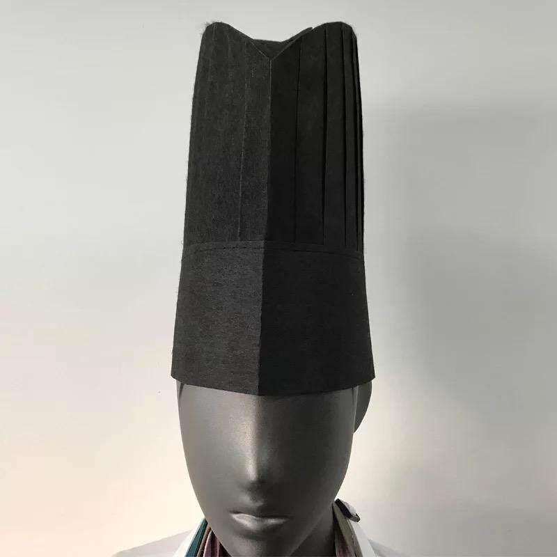 Chef Pria atau Wanita Lebih Tebal Topi Restoran Makanan Barat Dapur (Hitam   Sebuah Tas d4fce66cb9