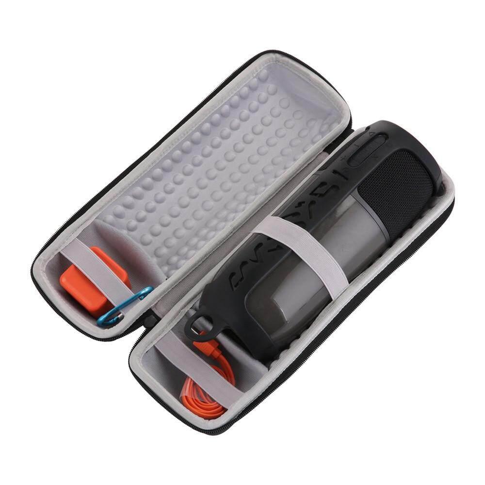 Detail Gambar Malloryshop Portable Carry Sleeve Silicone Case Carabiner for JBL Pulse 3 Bluetooth SpeakerSpeaker Terbaru