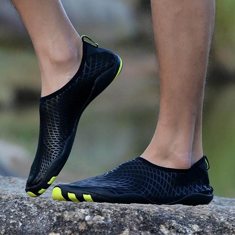 ... Kaus Kaki M (Hitam )-Intl. Source · Review of Orngmall Pendatang Baru Musim Panas Sepatu Air Pria Cepat Kering Renang Yoga Pantai Napas