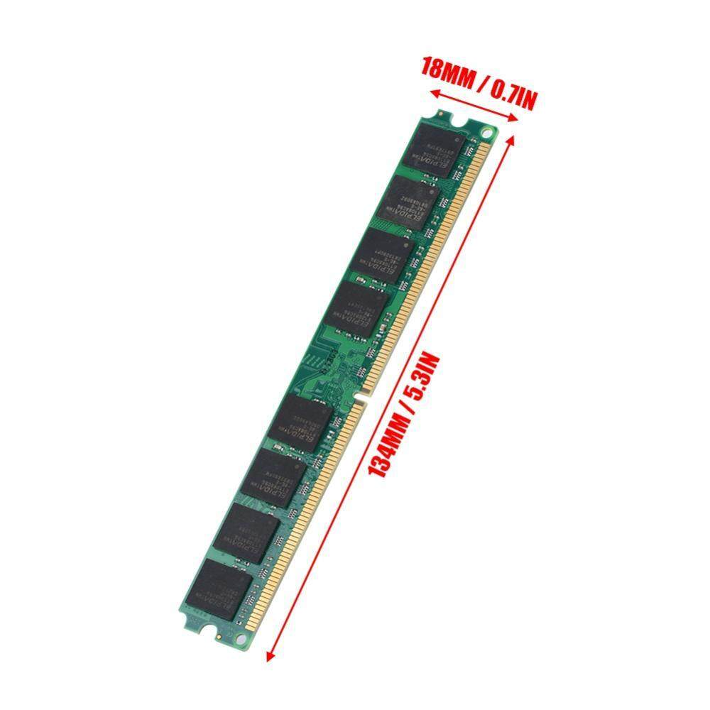 Features 2g Memory Ram Ddr2 800mhz Pc2 6400 Pc 240pin 1gb Dan 5300 Module Board Compatible