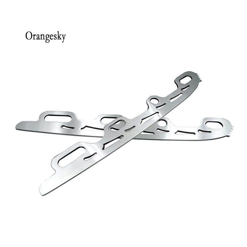 Mua Orangesky 1 cặp Con Lăn Giày Trượt Băng Lưỡi Giày Đa năng Bóng Lưỡi Dao Full Nguyên Bộ