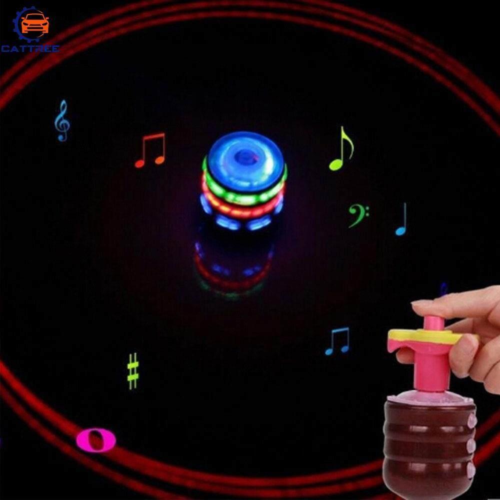 Catree Gyro Magic Laser Line Flash Light Music Kids Toy Light-Emitting