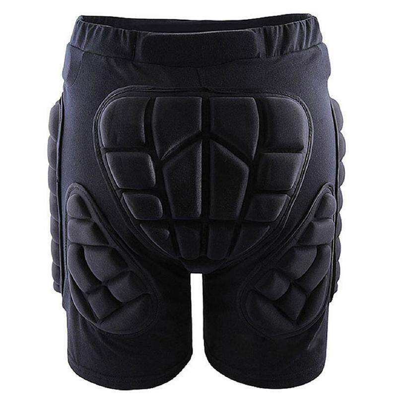 Outdoor Gear Hip Protective Shorts Skate Skating Snowboard Pants, Black L - intl