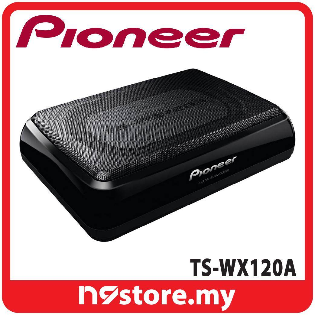 Pioneer TS-WX120A Slim Under Seat Active Subwoofer RMS 50W