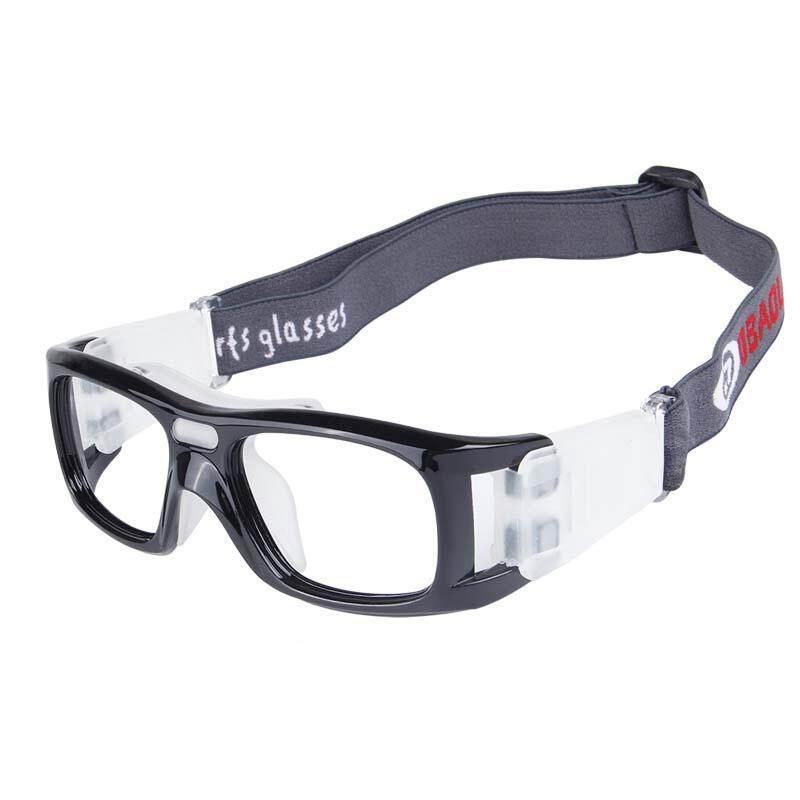 Olahraga Luar Ruangan untuk Pria dan Wanita Tahan Kejut Kacamata Basket Sepak Bola Lari Kacamata Pelindung-Intl