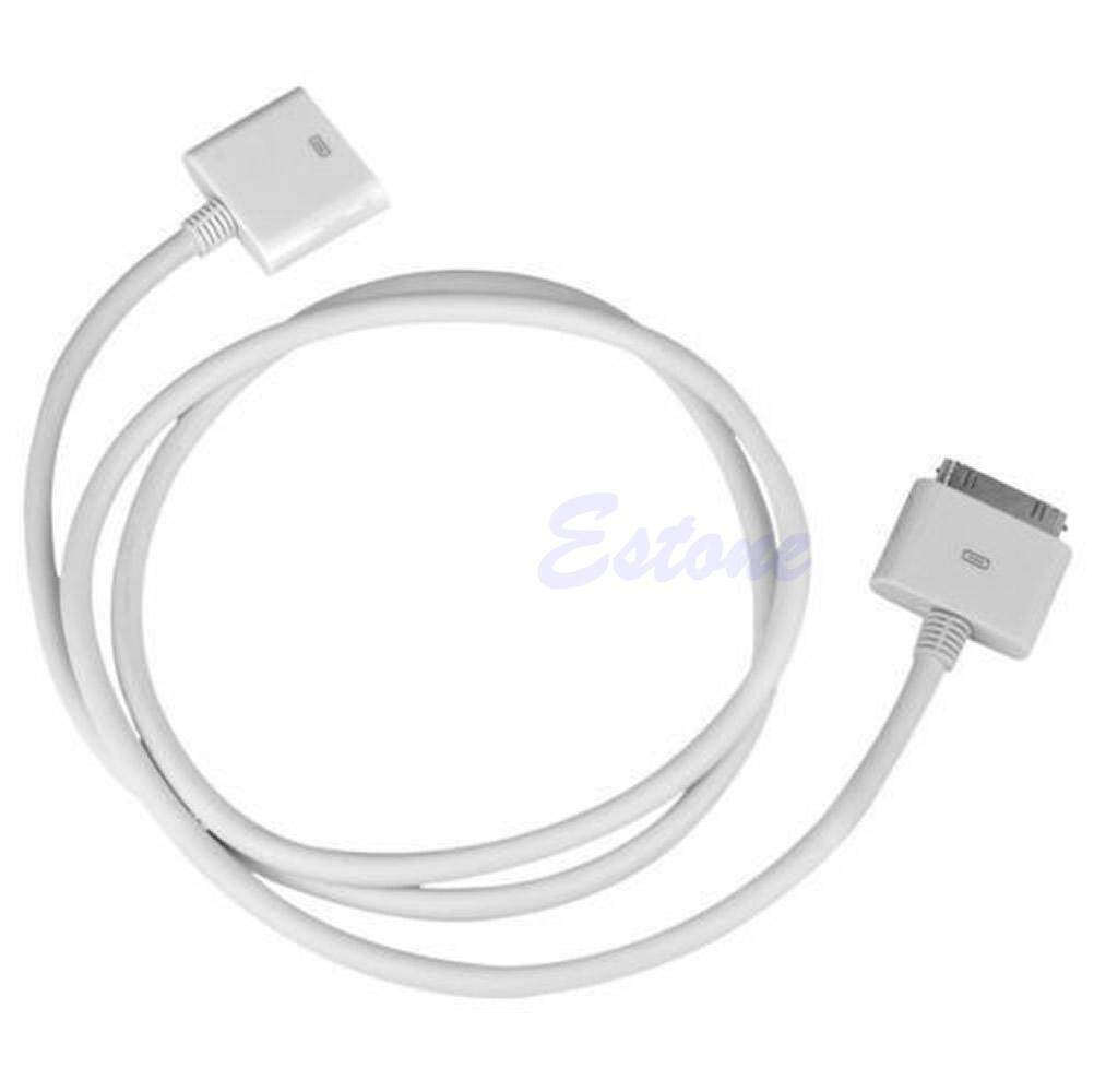 30 Pin Male To Female Dock Adapter Extender Extension Cable Cord - intl