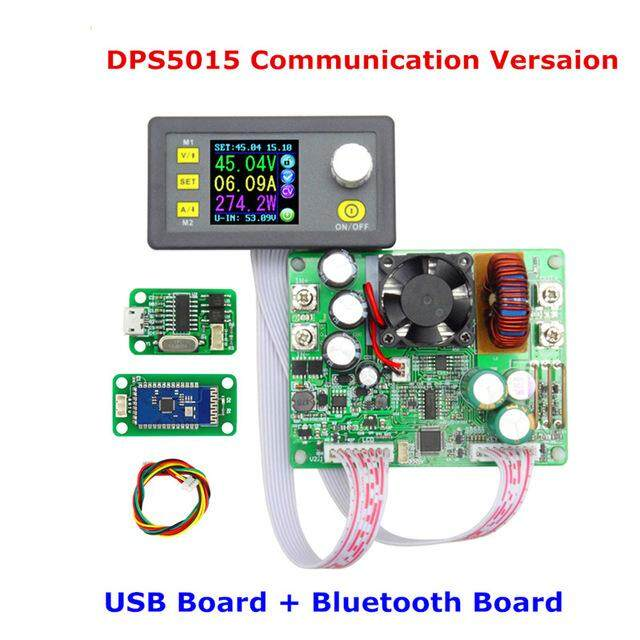 RUIDENG DPS5015 Communication Constant Voltage Current Step Down Digital Power Supply【DPS5015-USB with bluetooth】 - intl