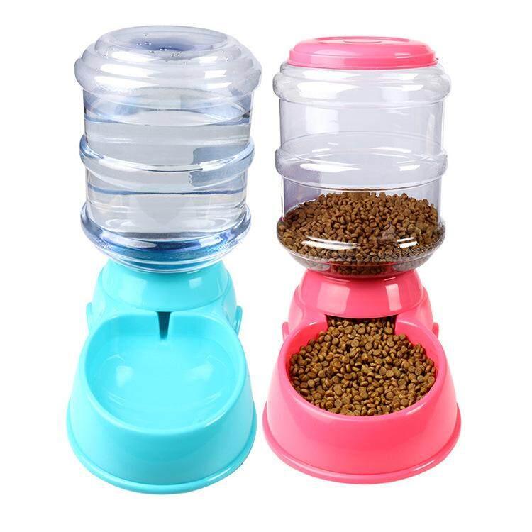 dog cat aiyoyomy automatic sale puppy pm kitten htm feeder i pond dispenser end fish koi food pet
