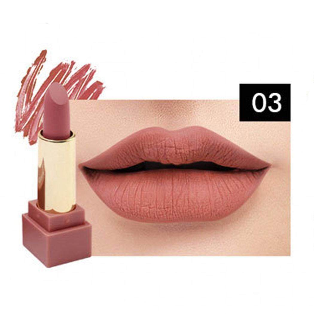 Cyber New Makeup Cosmetic Matte Long Lasting Waterproof Soft Lip Cream Lipstick Lip Gloss - intl Philippines