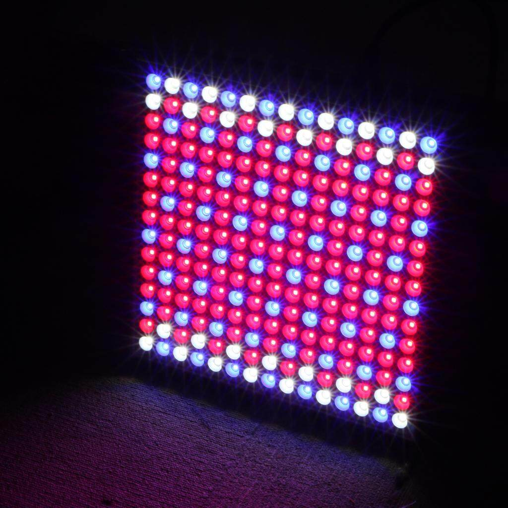 MagiDeal 45W LED Grow Light Panel Full Spectrum for Hydroponics Indoor Plant-EU