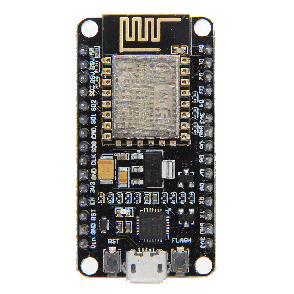 Specifications: 1. USB-TTL included, plug&play 2. 10 GPIO, every GPIO can be PWM, I2C, 1-wire 3. FCC CERTIFIED WI-FI module, PCB antenna