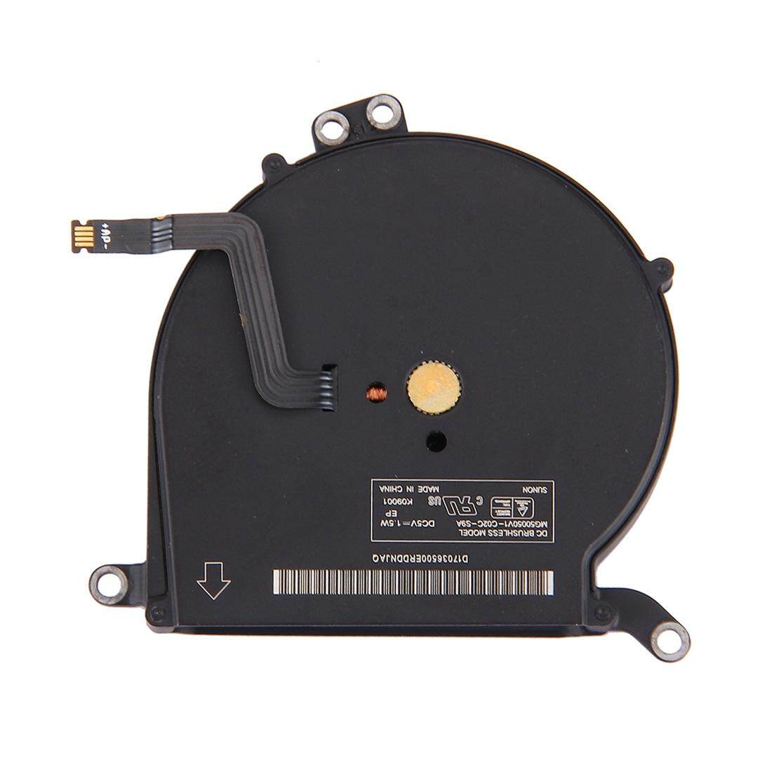 Original Cooling Fan for Macbook Air 13.3 inch (2011 - 2014) A1369 and A1466 - intl