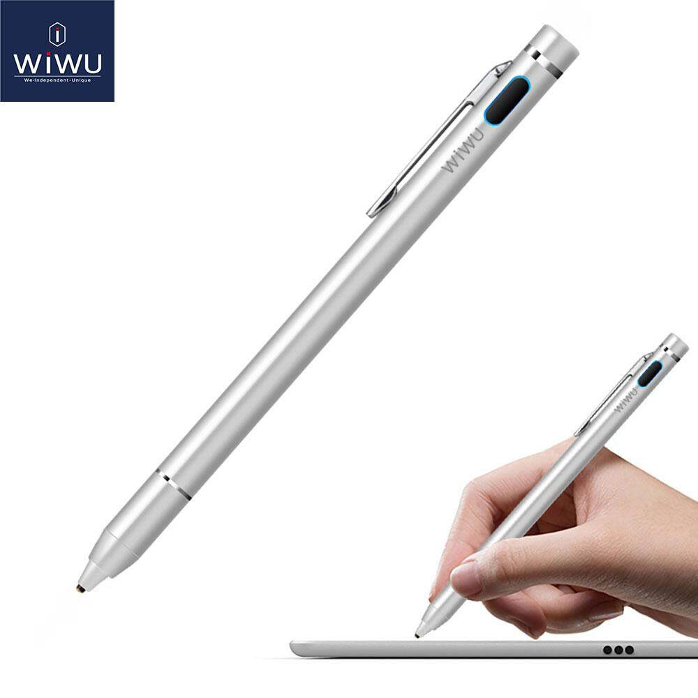 quality design 31783 71a44 WIWU High Precision Technology Touch Screen Pen Stylus Pencil For  Iphone/Table Suitable for Apple ios and Android system