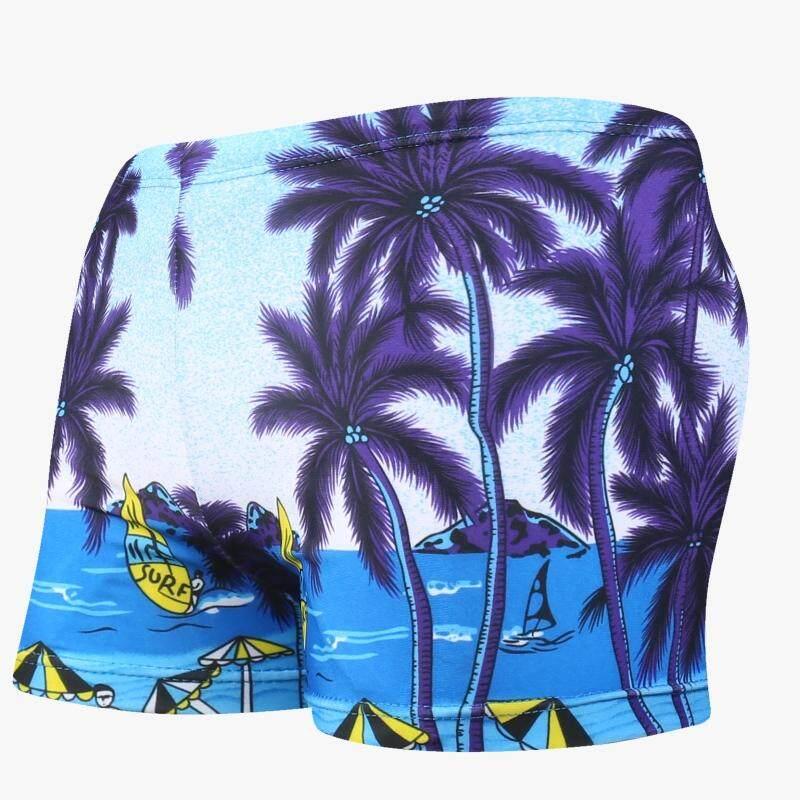 2019 Item Baru Modis Bersablon Liburan Di Tepi Pantai Anak Laki-Laki Celana Renang Anak-Anak Celana Pantai Elastisitas Tinggi Yang Kuat Celana Renang Grosir By Koleksi Taobao.