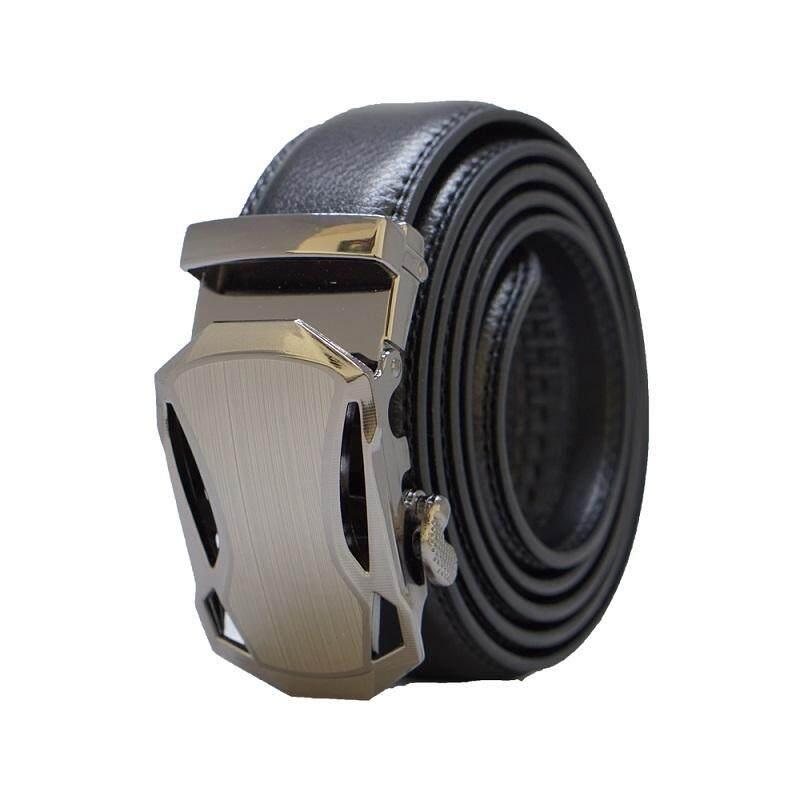 A52 High Quality Original Men Calf Skin Business Man Leather Belt - Adjustable Strap for Size M , L
