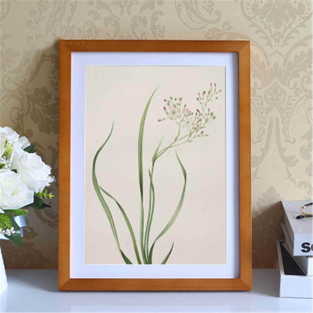 18x24 Inch Wooden Poster Picture Photo Certificate Black Natural Frame Chic DIY