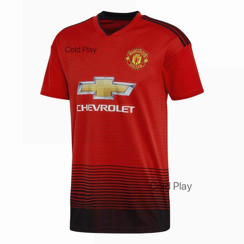 ea9266a2 Vick Sports 2019 Man Utd New Season Top Quality ManchesterUnitedFC Home And  Away Football Jersey for