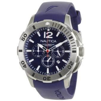 ... Militer Skala Digital Dial Chronograph Desain Pria Clock Watch. Source · Pencarian Termurah Nautica Nautica BFD 101 Chronograph Blue Stainless-Steel ...