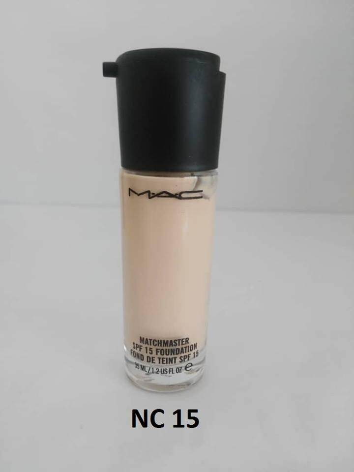 BRANDED MATCHMASTER SPF 15 FOUNDATION FOR ALL SKIN TYPES WITH FREE SPONGE NO. 02