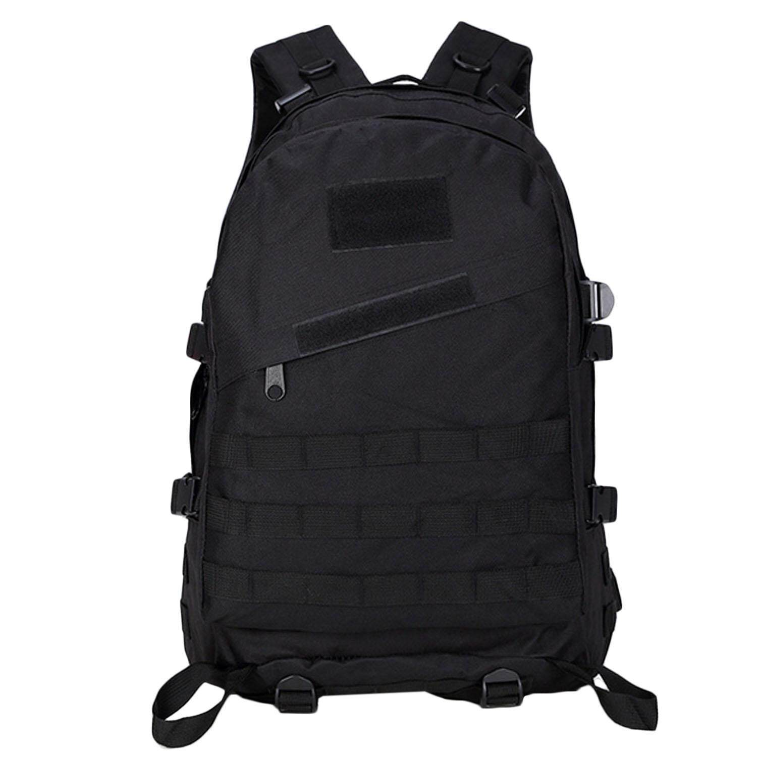 Outdoor Sport Military Tactical Backpack Army Backpack Travel Camping Hiking Trekking Bag Pubg Level 3 Backpack For Game Fans Black - Intl By Vococal Shop.