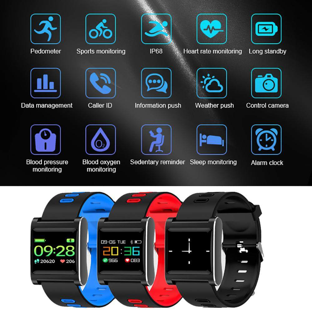 Buy Sell Cheapest Blood Pressure Best Quality Product Deals Omron Tensimeter Tensi Monitor Hem 8712 K88 Plus Smart Band Heart Rate Bracelet Color Display Ip68 Waterproof Fitness Tracker