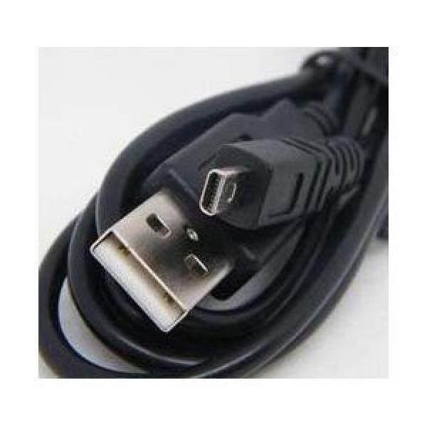Kabel USB USB UC-E6 UC, E6, UCE6, YM080315-Kabel Kawat Timah untuk Nikon Coolpix-L1, l10, L100, L11, L110, L12, L120, L14, L15, L16, L18, l19, L2, L20, L21, L22, L23, L26, L810, L3, L4, L5, L6 Kabel Kamera Digital-5 Kaki Hitam-Intl