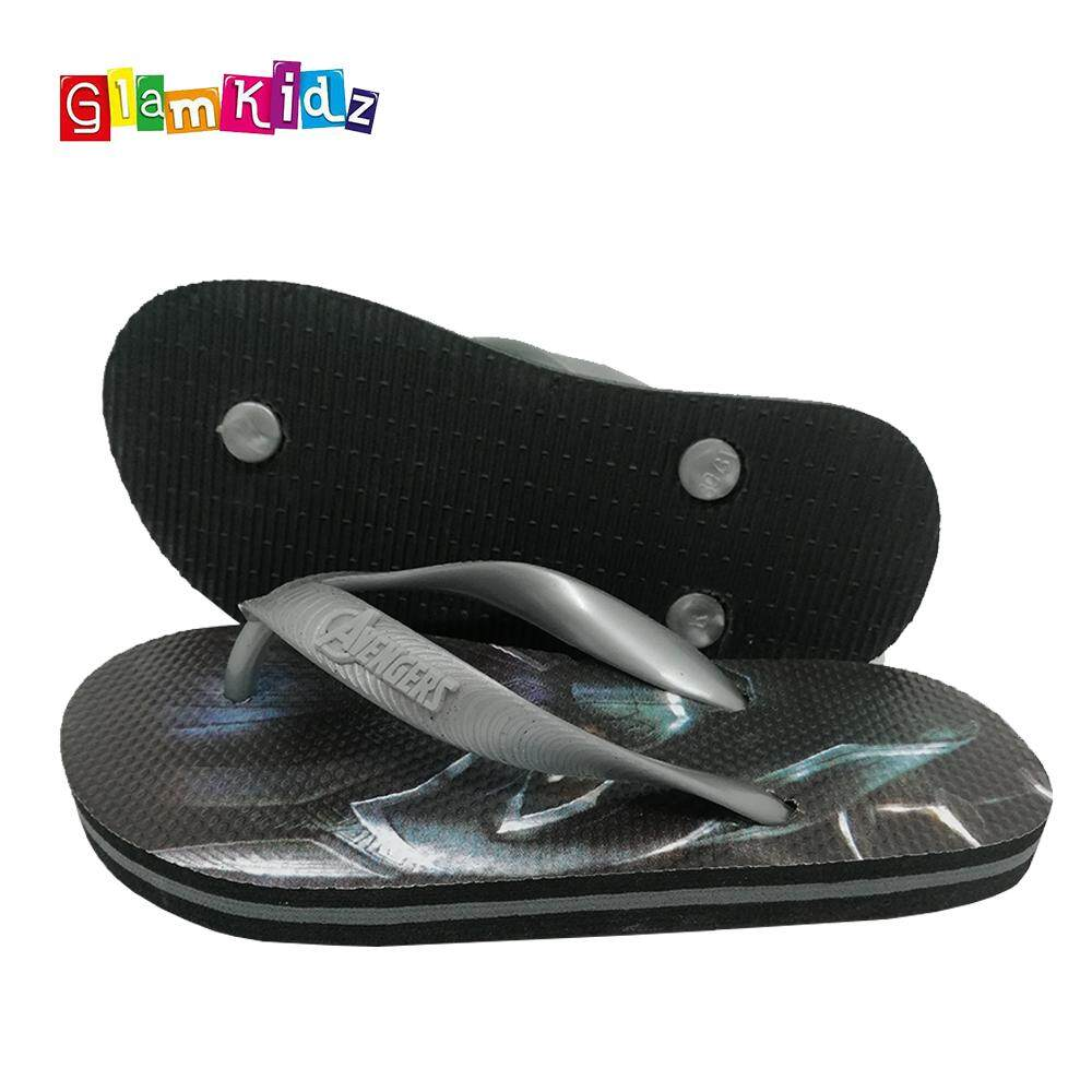 GlamKidz Avengers Black Panther Slippers #2587