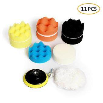 Giá ưu đãi niceEshop Car Foam Drill Polishing Pad Kit, 11 PCS 3 Inch/80mm Buffing Pads for Car Sanding, Polishing, Waxing,Sealing Glaze(8 Pads 1 Woolen ...