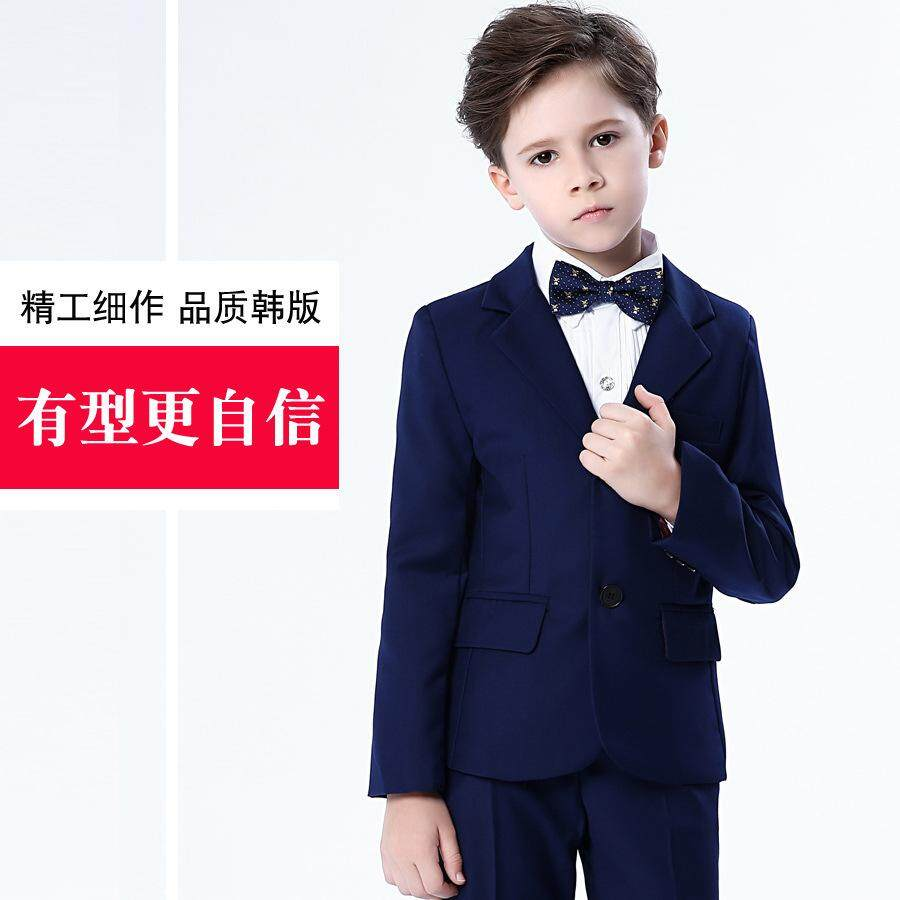 52a3850b23fd (Jacket+Ties+Pants+shirts)4Pcs Boys Suits for Weddings Children Costume