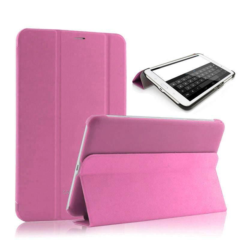 Untuk Samsung Galaxy Tab3 7.0 Lite T110 T111 Case Penutup Otomatis Bangun Tidur PK