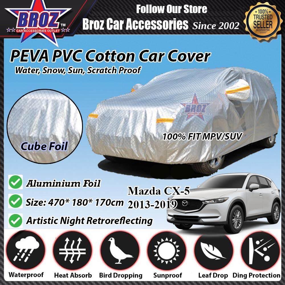 Mazda CX-5 Car Body Cover PEVA PVC Cotton Aluminium Foil Double Layers - MPV