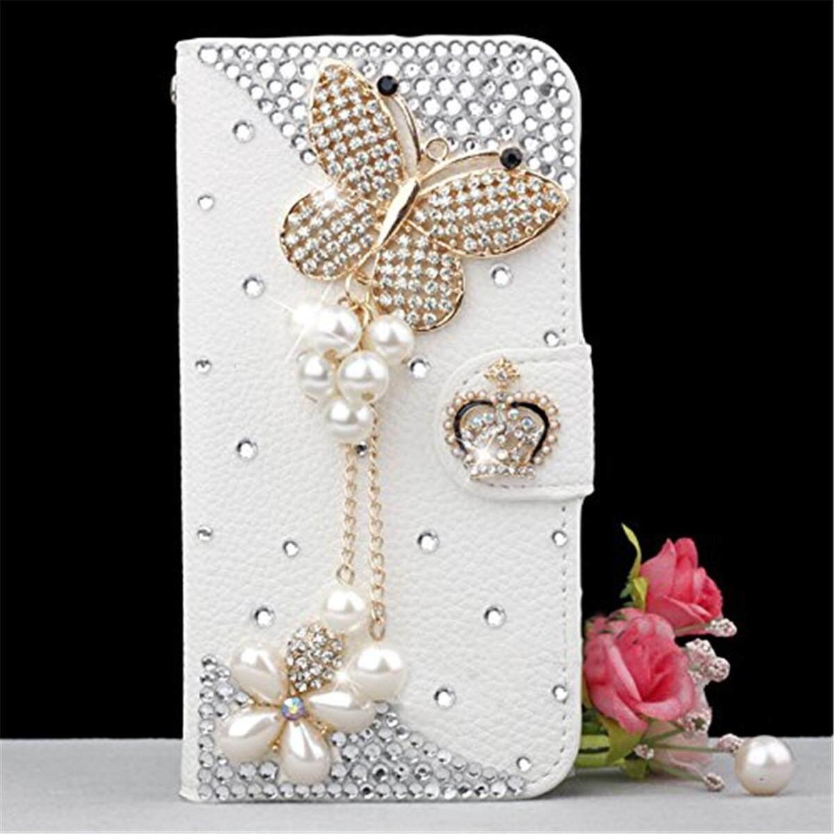 Update Harga Leather Case Magnetic Closure Flip Cover For Samsung Calandiva Premium Front Back Galaxy A6 Plus 2018 60 Inch Tg Merah Moonmini 3d Bling Diamond Rhinestones Pu Wallet