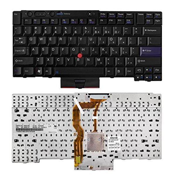 Computer Accessories SHINESTAR SHINESTAR Replacement Keyboard for Lenovo ThinkPad T410 T420 T410s T420s X220 X220T T510 T520 W510 W520 X220i X220it T410i T410si T420i T510i T520i Series Black US Layout - intl