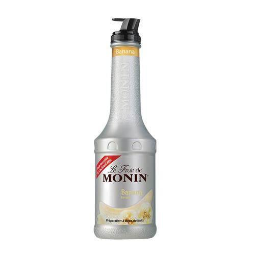 MONIN BANANA FRUITMIX PUREE 1LT
