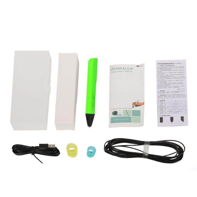 H-MENT 3D Drawing Pen PCL 1.75mm Filament Low Temperautre Smart 3D Printing Pen