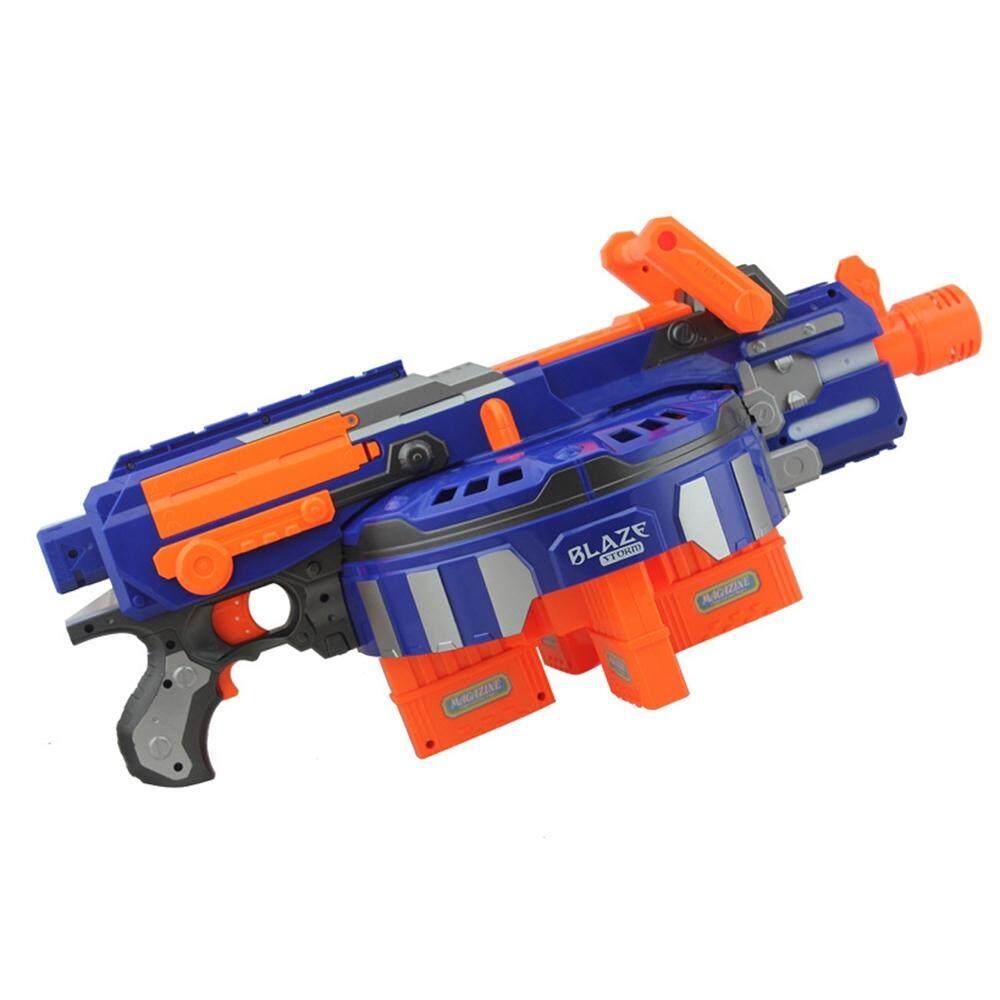 Blaze Storm Soft Bullet Blaster Gun 48 Shoot Toy