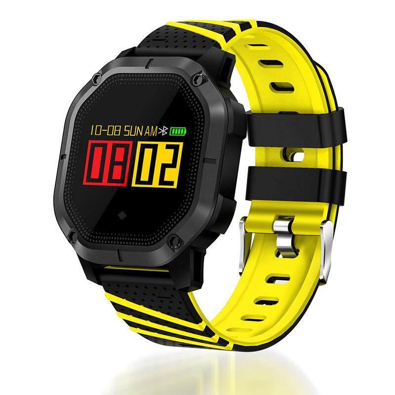 K5 Bluetooth 4.0 1.0 Inchtft Layar IP68 GSM Tahan Air Layar Sentuh Multifungsi Sport Smart Wrist Gelang Jam untuk Huawei Xiaomi Samsung iPhone 4 warna