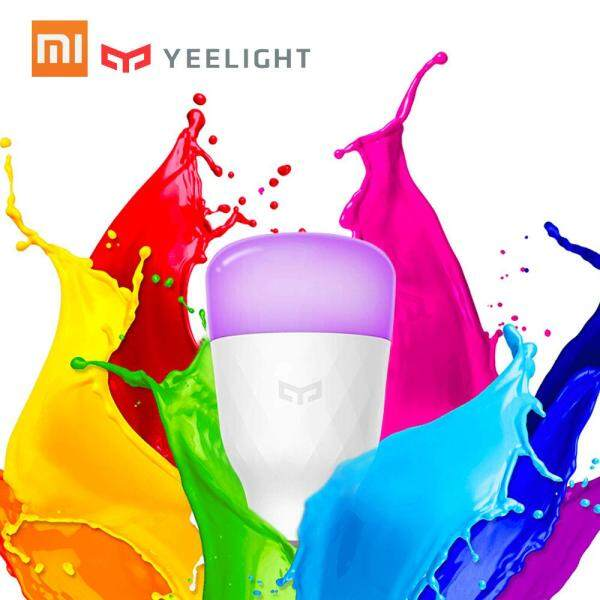 Xiaomi Yeelight Smart Bulb Colorful 800 lumens 10W E27 Lemon Smart Bulb Lamp For Mi Home App (Update Version) 220V-240V 50/60Hz Colorful Version