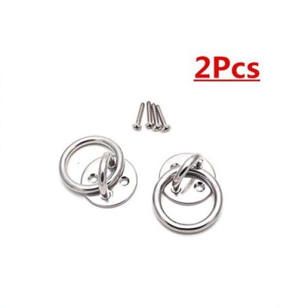 Sydien 2Pcs Stainless Steel Suspension Ceiling Hooks M5 Wire Diameter Hammock  Chair Hanging Kit With Ring ...