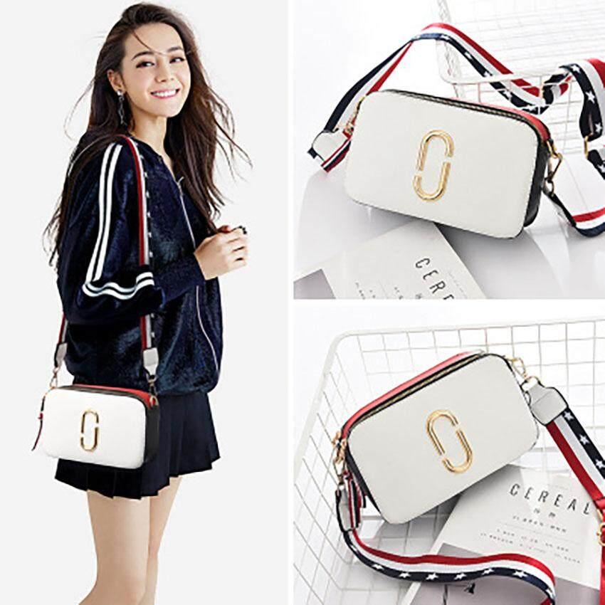 Unique2017 New Ladies Fashion Korean Style Chic Portable Personality  Hardware Decoration Small Square Sling Strap Bag 970b2fe142ad1