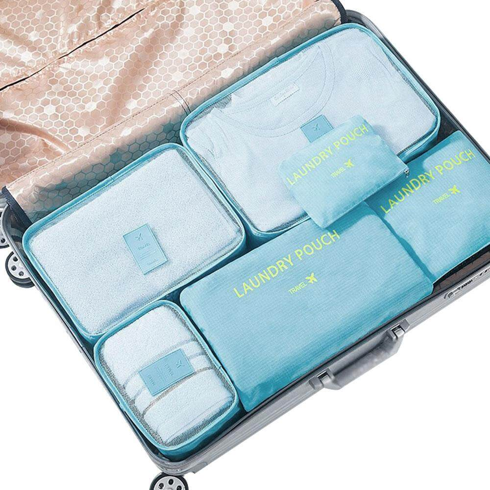 6 Set Travel Storage Bags Multi-functional Clothing Sorting Packages,Travel Packing Pouches,