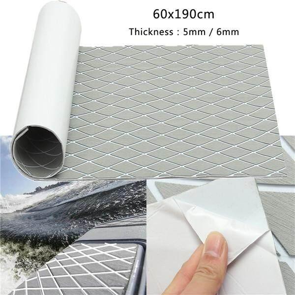 Hình ảnh Gray+White Rhombus 6mm 60x190cm EVA Foam Boat Flooring Faux Teak Sheet Pad