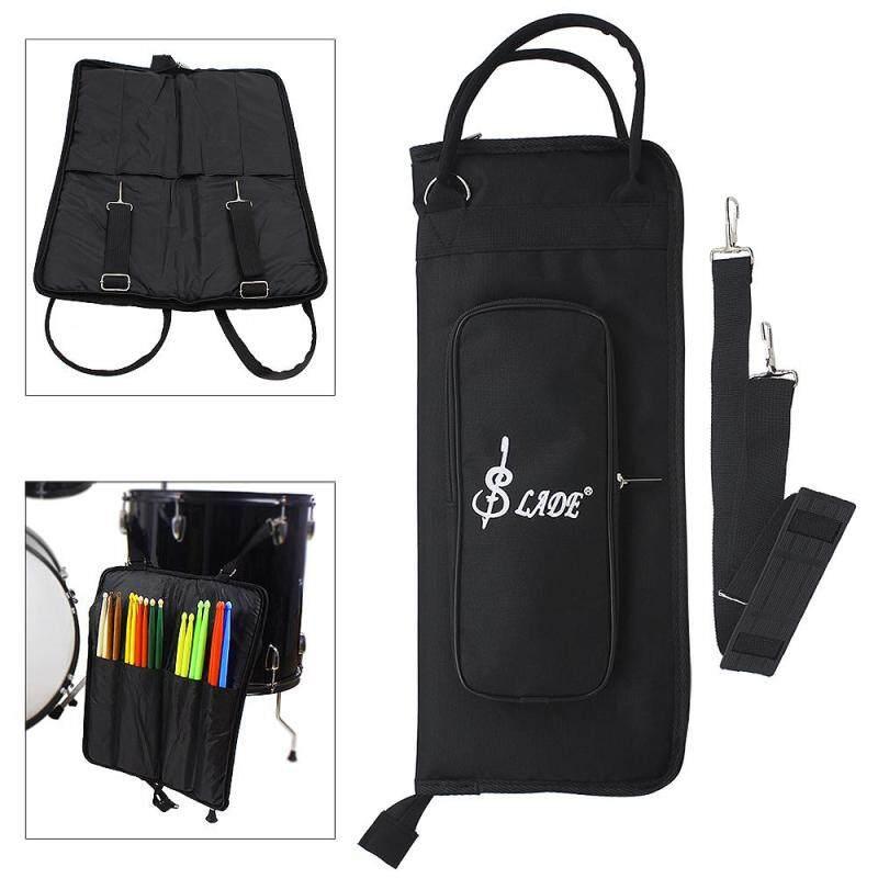 Oxford Cloth Drumstick Backpack Bag Jazz Drum Stick Music Book Storage Large Capacity Handbag (Black)