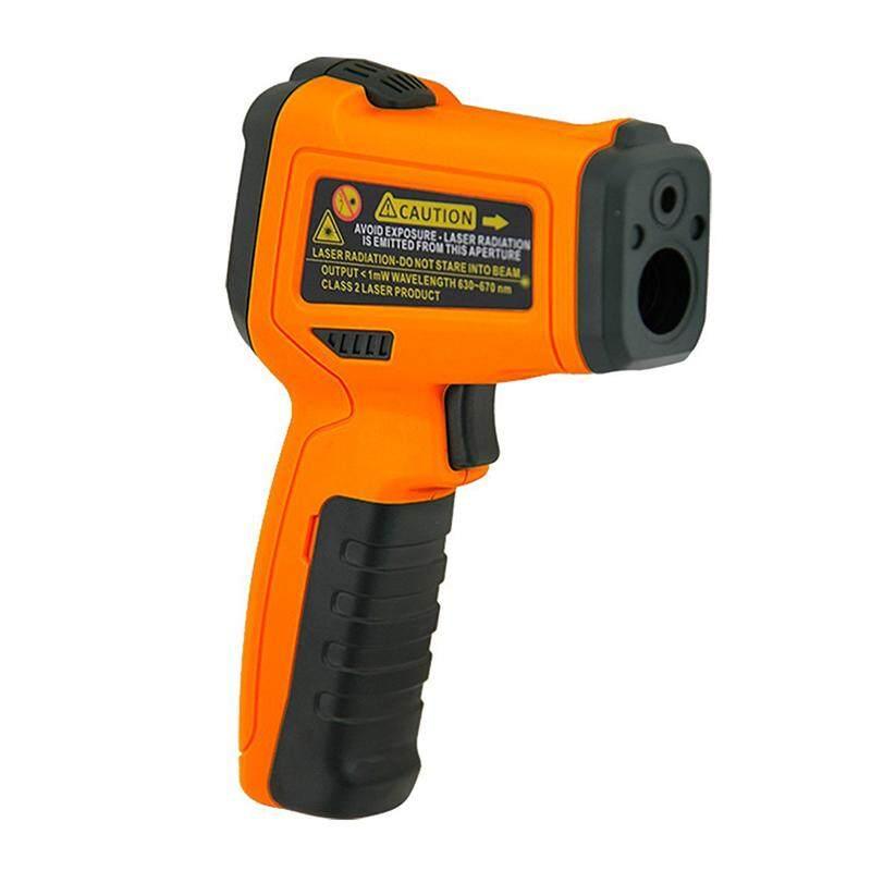 PEAKMETER PM6530B Digital Infrared Thermometer Non-contact Digital Infrared IR Thermometer Temperature Tester Orange