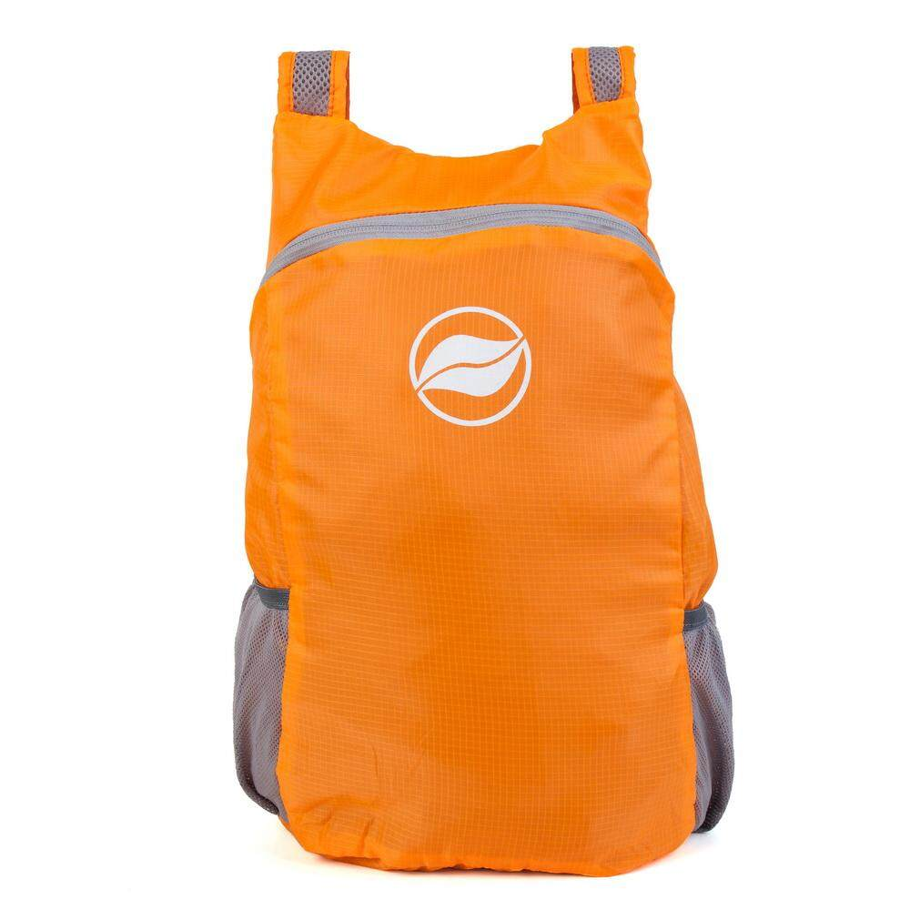 Sunfield 16l Polyester Waterproof Ultra-Light Foldable Backpack - Orange By Uni-Shop.