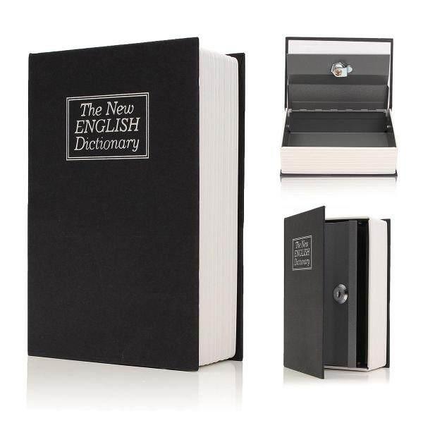 Lưu trữ rỗng hộp an toàn từ điển Sách Tiền Ẩn khóa bảo mật Bí Mật + chìa khóa-