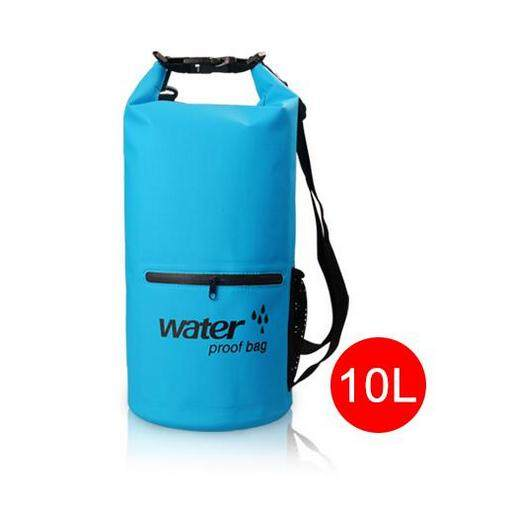 Justgogo 10L Multi-function Waterproof Floating Bag For Swimming Rafting Drifting - intl
