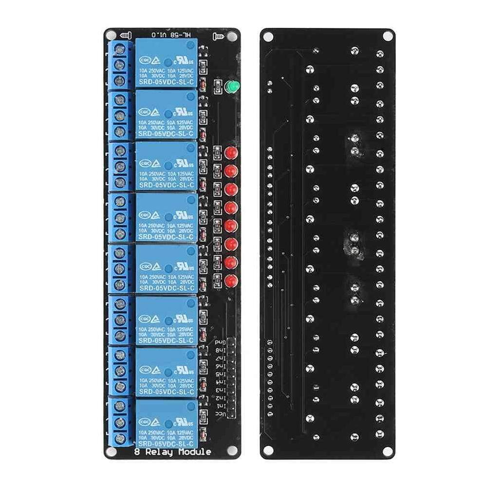 Hình ảnh Sway LED 8 Channel Relay Board Module NO Optocoupler for Arduino PiC ARM AVR - intl