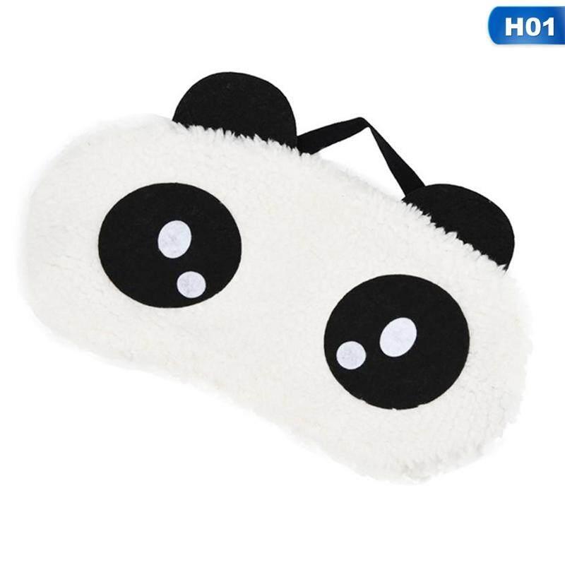 ebcb3a08462 4 Style Face White Panda Eye Mask Eye Shade Shading Sleep Eye Cover Care By  Darahry